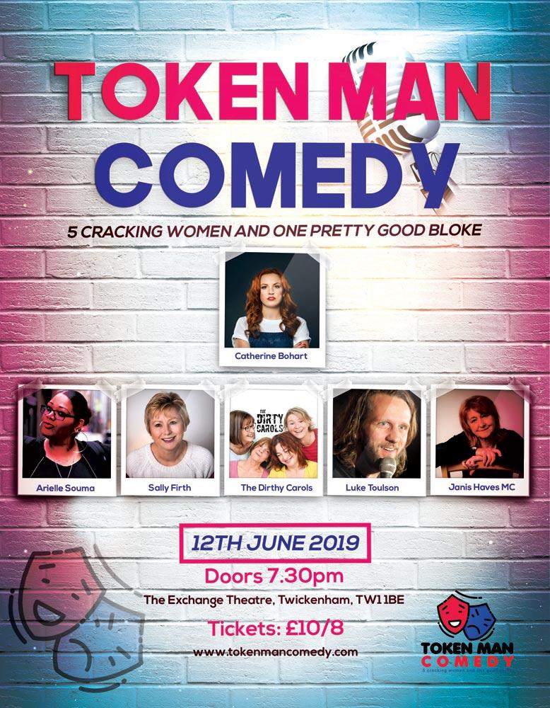 Token Man Comedy June 12